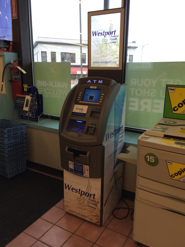 WFCU branded ATM at Rite Aid