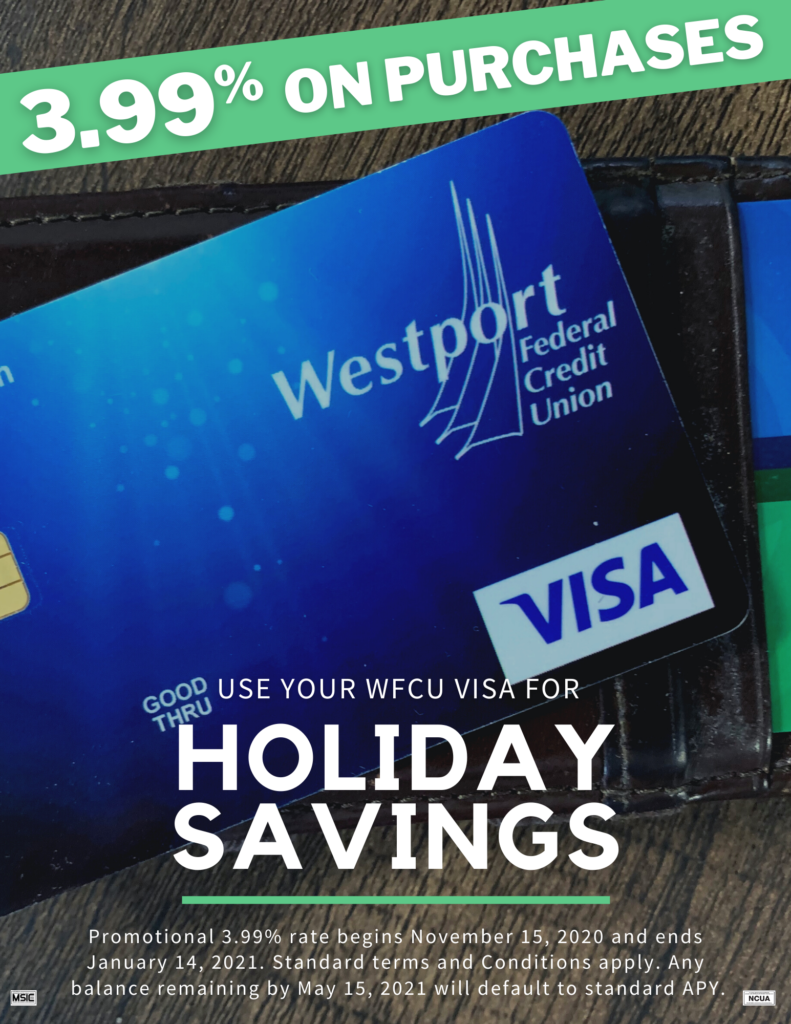 Visa Credit Card Holiday Promotion