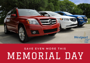 Save Even More this Memorial Day with Westport Federal Credit Union