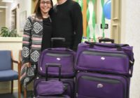 Westport Federal Credit Union luggage raffle winners