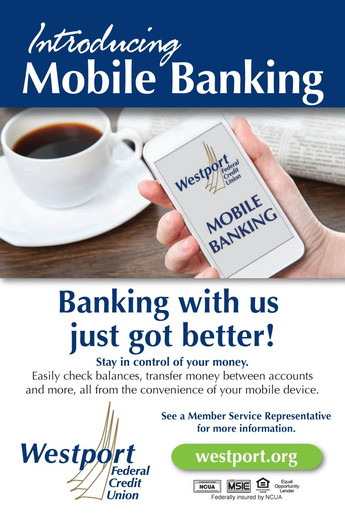 Westport Federal Credit Union mobile banking