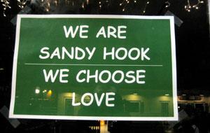 Sandy Hook - We choose love